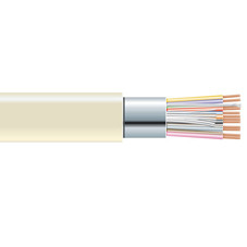 Extended-Distance Data Cable, Office Environment, PVC Jacket, 12 Conductors (6 Pairs), 500-ft. (152.4-m)