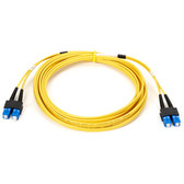 Single-Mode, 9.0-Micron Duplex Fiber Optic Cable, SC SC, PVC, 30-m (98.4-ft.)