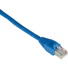 GigaBase 350 CAT5e Patch Cable (UTP) with Snagless Boots, Crossover, Blue, 10-ft. (3.0-m)