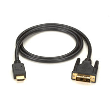 HDMI to DVI-D Cable, M/M, PVC, 1-m (3.2-ft.)