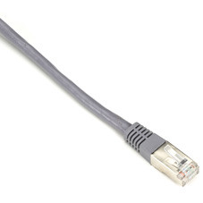 CAT6 250-MHz Shielded, Stranded Cable SSTP (PIMF), PVC, Gray, 3-ft. (0.9-m)