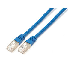 CAT6 400-MHz, Shielded, Solid Backbone Cable (FTP), Plenum, Blue, 3-ft. (0.9-m)