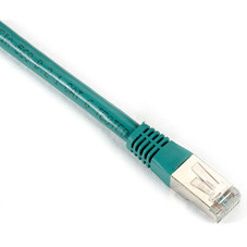 CAT6 400-MHz, Shielded, Solid Backbone Cable (FTP), PVC, Green, 15-ft. (4.6-m)