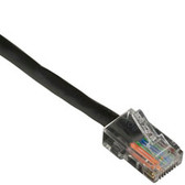 CAT5e 100-MHz Patch Cable (UTP) with Basic Connectors, Straight-Pinned, Black, 30-ft. (9.1-m)
