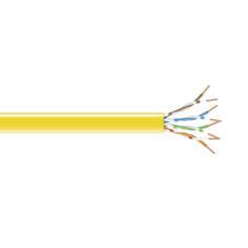 GigaBase 350 CAT5e, 350-MHz Stranded Bulk Cable, Yellow, 1000-feet (304.8-m)