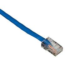 GigaBase 350 CAT5e Patch Cable, Basic Connectors, Blue, 7-ft. (2.1-m)