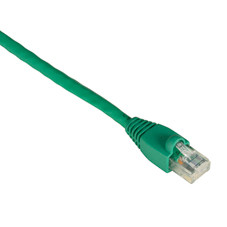 GigaTrue CAT6 Channel 550-MHz Patch Cable (UTP), Snagless Boots, Green, 7-ft. (2.1-m)