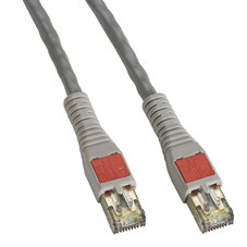 CAT6 High-Density Data Center Patch Cable, 7-ft. (2.1-m), Gray