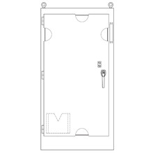 MFD843924-12FS   B-Line by Eaton Solutions