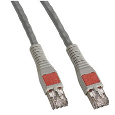 CAT6a High-Density Data Center Patch Cable, 15-ft. (4.5-m), Gray