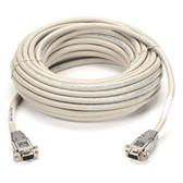 DB9 Serial Null-Modem Cable, DB9 Female/DB9 Female, 6-ft. (1.8-m)