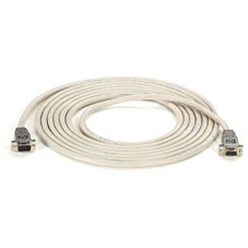 DB9 Serial Null-Modem Cable, DB9 Male/DB9 Female, 10-ft. (3.0-m)