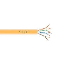 GigaTrue 550 CAT6, 550-MHz Solid Bulk Cable, 1000-ft. (304.8-m), PVC, Orange