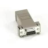 MicroSwitch Adapter, AT  (DB9 F RJ-45)