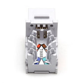 10-Gigabit CAT 6A Jack, White