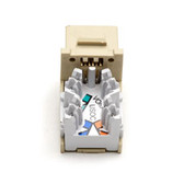 USOC RJ-11, 6-Wire Jack, Electric Ivory