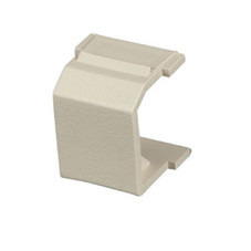 GigaStation Snap Fitting, Blank, Telco Ivory, 10-Pack