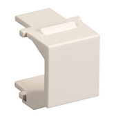 GigaPlus Blank Wallplate Inserts, White, 20-Pack