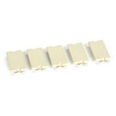 GigaStation+ Blank, 1 Unit High, Electric Ivory, 5-Pack