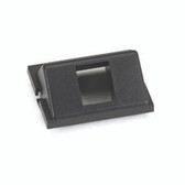 1-Port Keystone, Angled GigaStation+ Module, 1.5 Unit High, Black