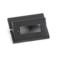 GigaStation+ Module, Angled, 1.5 Unit High, SC, 1 Duplex, Black