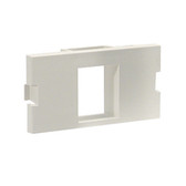 GigaStation+ Module, 2 Unit High, SC, Angled, 2 Duplex, Office White