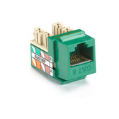 GigaTrue Plus CAT6 Jack, Green, 25-Pack