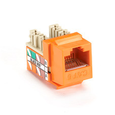GigaTrue Plus CAT6 Jack, Orange