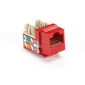 GigaTrue Plus CAT6 Jack, Red, 25-Pack