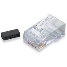 CAT6 Modular RJ-45 Connectors, 25-Pack