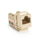 GigaBase Plus CAT5e Jack, Ivory