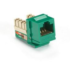 GigaBase Plus CAT5e Jack, Green