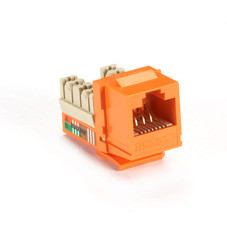 GigaBase Plus CAT5e Jack, Orange