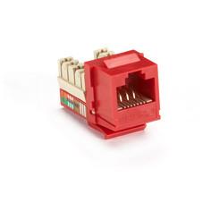 GigaBase Plus CAT5e Jack, Red