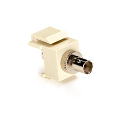 GigaStation2 Snap Fitting, ST Adapter, Female/Female, Ivory