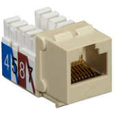 CAT3 Jack, Ivory, Single-Pack