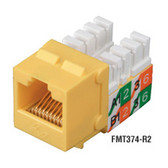 CAT3 Jack, Green, Single-Pack
