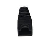 Color-Coded Snagless Pre-Plug, Black, 50-Pack