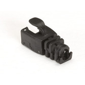 Snap-On Patch Cable Boot, 50-Pack, Black