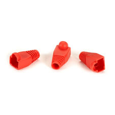Color-Coded Snagless Pre-Plugs, Red, 50-Pack
