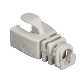 Snap-On Patch Cable Boot, 50-Pack, Gray