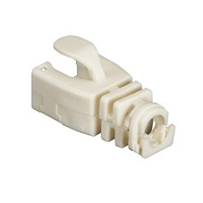 Snap-On Patch Cable Boot, 50-Pack, Beige