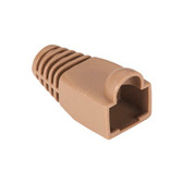 Color-Coded Snagless Pre-Plug, Brown, 50-Pack
