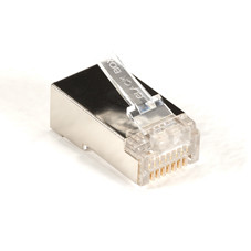 CAT5e Shielded Modular Plug, RJ-45, 25-Pack