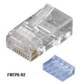 CAT6 Modular Plugs, RJ-45, 10-Pack