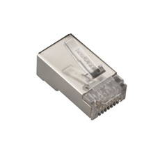 CAT6 Shielded Modular Plug, 50-Pack