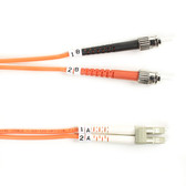 50-Micron Multimode Value Line Patch Cable, ST LC, 2-m (6.5-ft.)