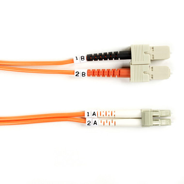 50-Micron Multimode Value Line Patch Cable, SC LC, 3-m (9.8-ft.)
