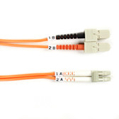 50-Micron Multimode Value Line Patch Cable, SC LC, 5-m (16.4-ft.)