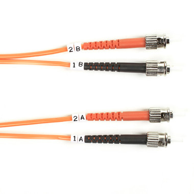 50-Micron Multimode Value Line Patch Cable, ST ST, 10-m (32.8-ft.)
